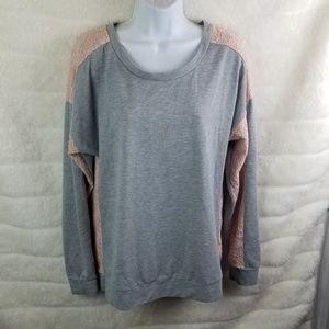 Hannah 2 Tone Sweater